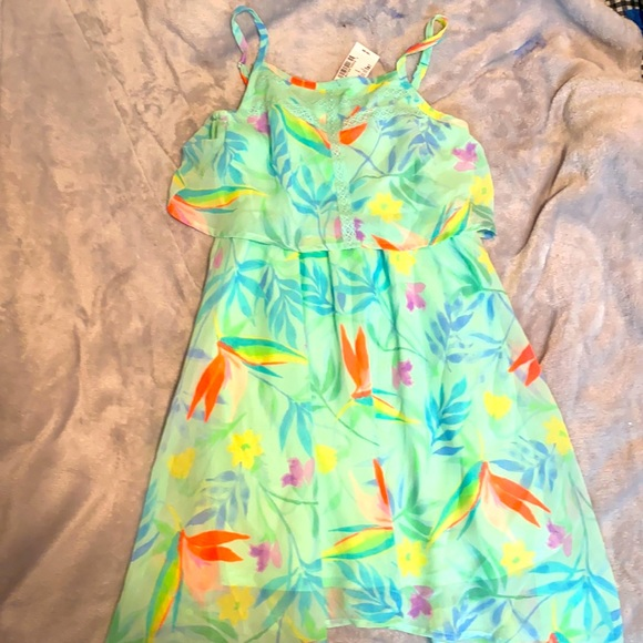 The Children's Place 7/8 Girls Floral Dress NWT
